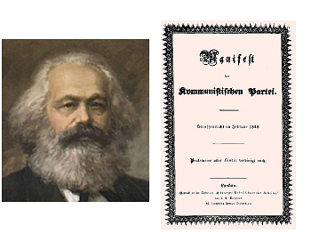 an analysis of karl marxs manifesto in communism The communist manifesto is a short document composed by karl marx and friedrich engels in 1848 in an attempt to popularize and summary and analysis.