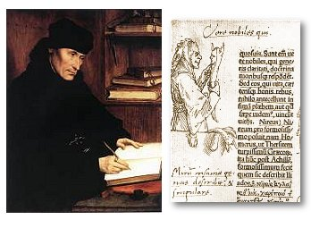 an analysis of the praise of folly by desiderius erasmus Study guide and teaching aid for desiderius erasmus: the praise of folly featuring document text, summary, and expert commentary.